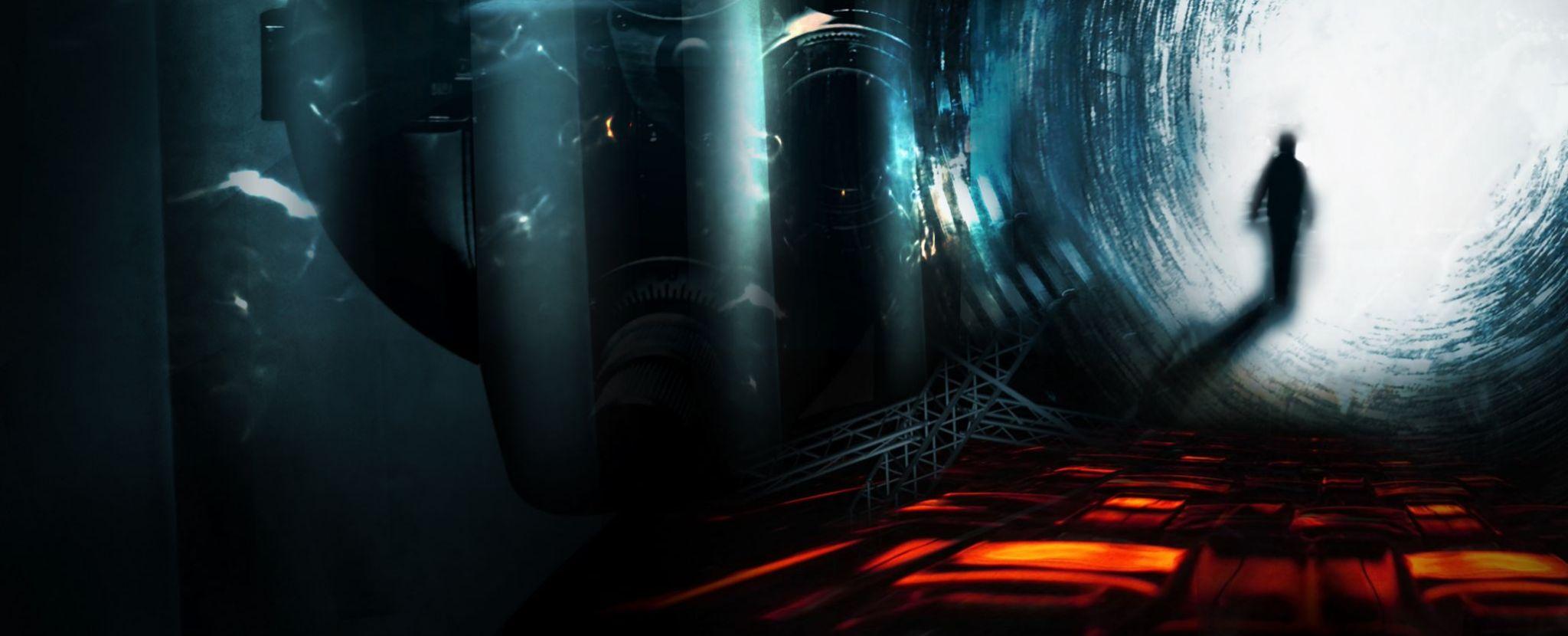 adventurer through tunnell